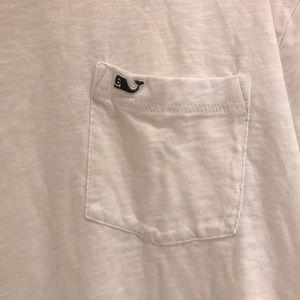 Vineyard Vines Shirts - Vineyard Vines White T-shirt with pocket